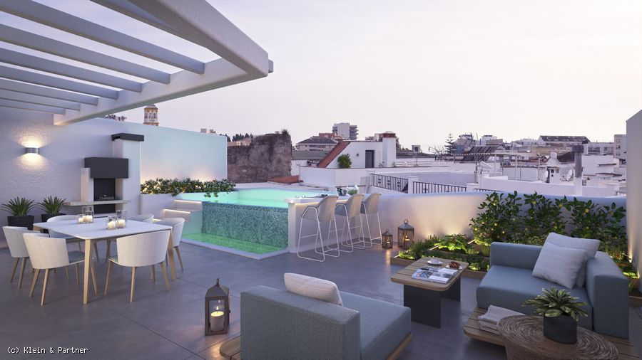 New Project of 6 Unique Apartments for sale in Marbella Old Town