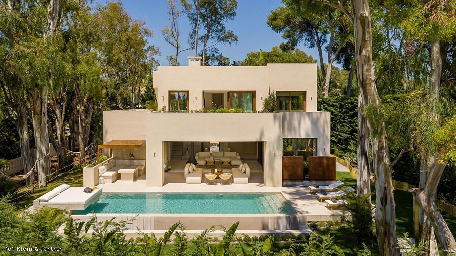 Completed Turnkey Project Villa Copal in Los Monteros Playa