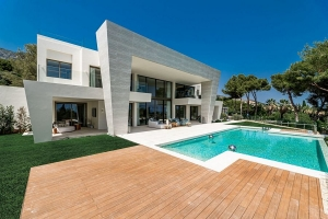 Newly Built Concept Villa with Sea Views in Sierra Blanca