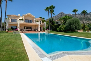 Villa La Rotonda in Urb. Marbella Hill Club, Marbella Golden Mile