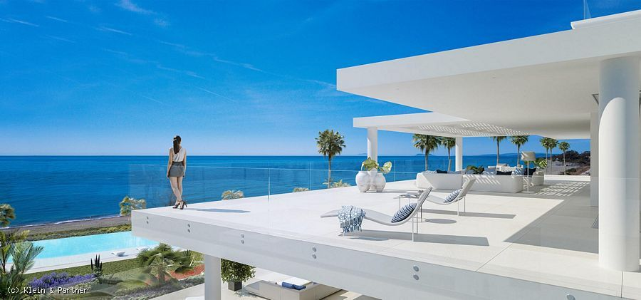 New Development of Contemporary Beach Front Apartments & Penthouses